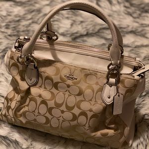 Multi Zipper Coach Purse